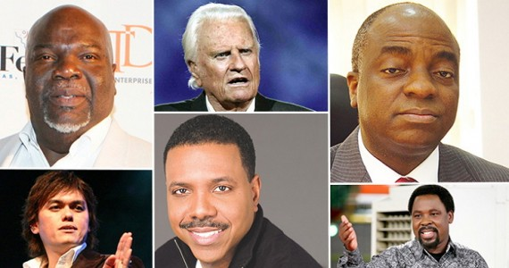 5 Nigerians Amongst The 2014 Top 10 Richest Pastors In The World
