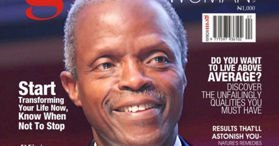Vice-President Elect, Professor Yemi Osinbajo, Graces The Cover Of Gemwoman/man Magazine