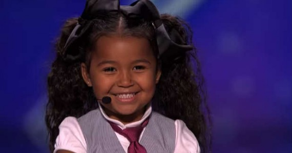 "SelahTV: Watch 5 Year-Old Daughter Of Producer Dark Child, Heavenly Joy On America's Got Talent – Infiltrates Media With The Name ""Jesus"""
