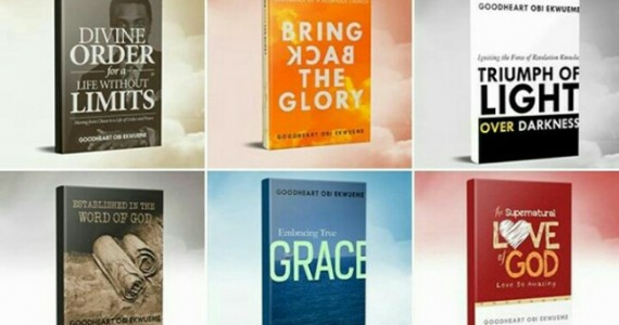 HOTR's Pastor GoodHeart Ekwueme Launches 12 Books All At Once!!