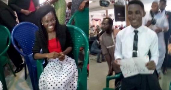 Video: Okey Sokay Proposes To Girlfriend Nkechi