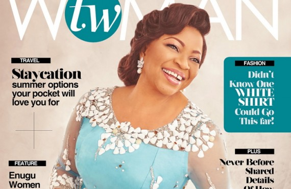 Folorunsho Alakija Covers July Edition Of Today's Woman Magazine