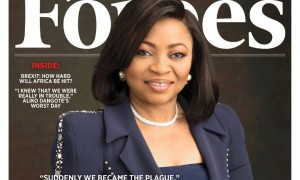 'No Such Word As CAN'T' – Folorunsho Alakija Covers Forbes Africa Magazine August Issue