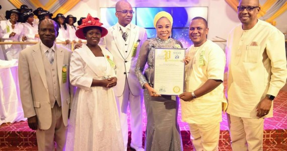 Gospel Music Icon Tope Alabi Honoured By New York State Senate