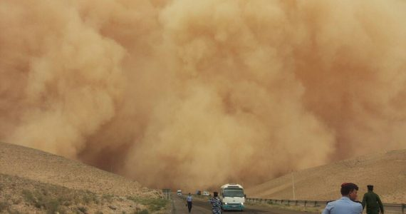 God Whips Massive Dust Storm & Rescues Christian Converts From Islamist Militants