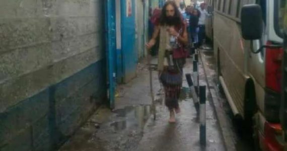 #JesusInNairobi: Jesus Look-Alike Gets Crucifixion Threat
