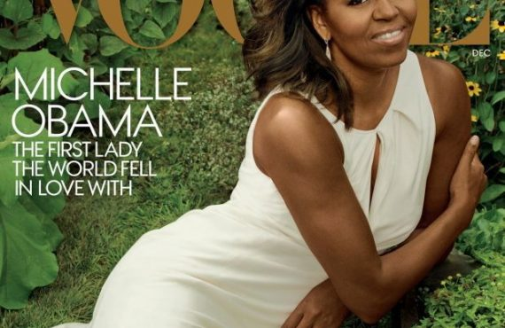 Michelle Obama Exudes Youthful Elegance On Her Final Vogue Cover As First Lady