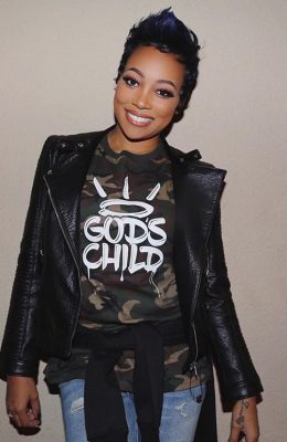 "Monica Makes Bold Statement With ""God's Child"" Apparel"