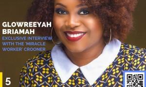 Glowreeyah Braimah Is Radiant On The Cover Of Imbue Magazine Love Edition!