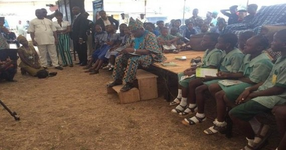 Obasanjo Celebrates Birthday With Reading Sessions In Public Schools – Receives CAN Honourary Title