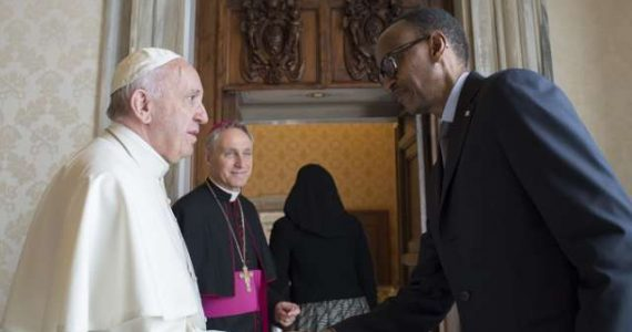 Pope Meets Rwandan President – Apologizes For Church's Role In Genocide