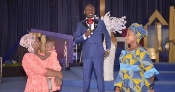 Stephanie Otobo's Mum Visits & Apologizes To Apostle Suleman