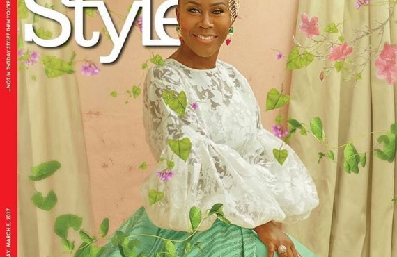 Tara Durotoye Dazzles On The Cover Of ThisDay Style Magazine As She Turns 40!