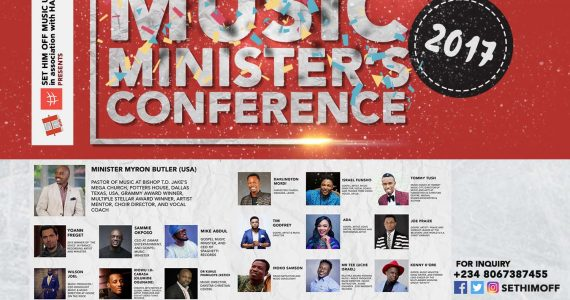 Grammy Award Winner Myron Butler Speaks On African Music Ministers Conference 2017