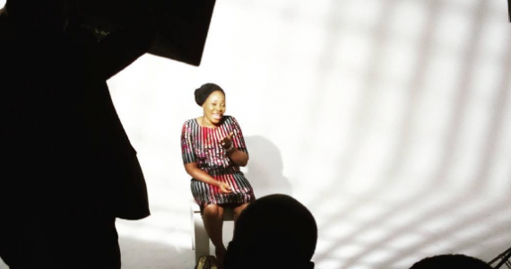 "Tope Alabi Shoots Video For ""Alagbara"" – See BTS Pictures"