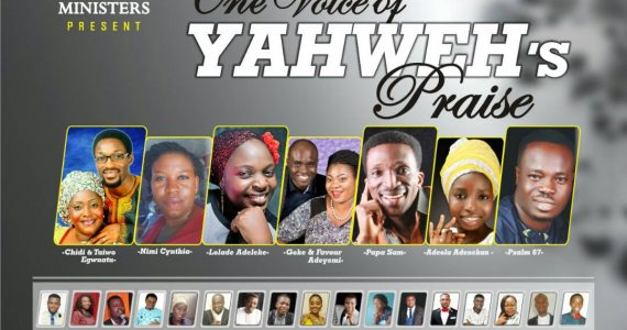 """Abeokuta Fellowship Of Music Ministers Presents """"One Voice Of Yahweh's Praise"""""""
