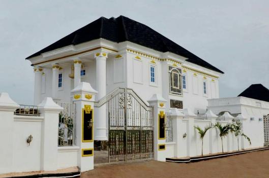 Dye Builds Mansion