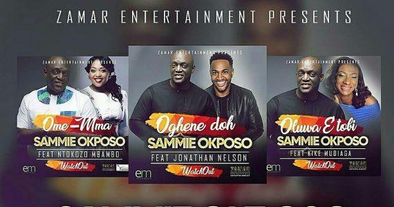 Sammie Okposo's 3 Smashing Hit Singles Now Available On iTunes & Spiricoco! Features Jonathan Nelson, Ntokozo Mbambo & Kike Mudiaga