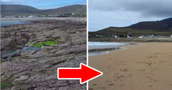God's Wonders! Locals Rejoice As Irish Beach Reappears After 33 Years!