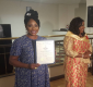 Ace Actress Clarion Chukwura Glorifies God As She Recieves Humanitarian Award In Houston