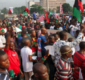 Tension In Anambra As IPOB Youths Confront Governor Obiano During Church Service