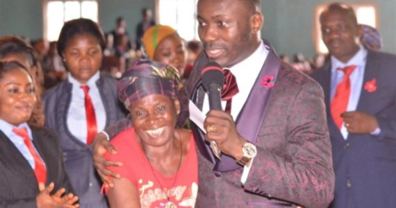 Apostle Johnson Suleman Places 73 Years Old Woman On Lifetime Salary