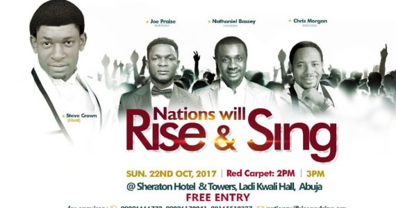 Steve Crown Makes History This October With 'Nations Will Rise & Sing'
