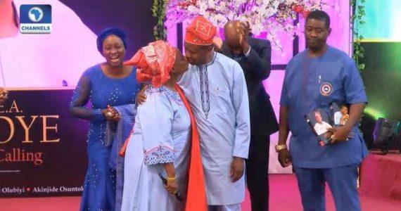 Pastor Folu Adeboye Causes Stir On Twitter After Calling Daddy G.O Her #MCM