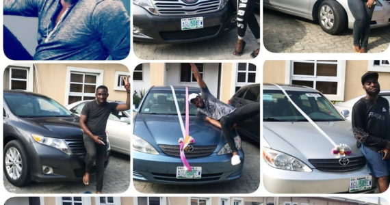 Tim Godfrey Splashes N20m On Toyota Cars For Xtreme Crew Members