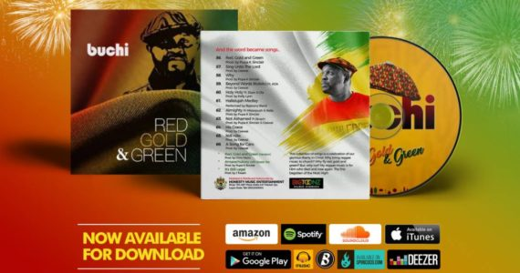 "Buchi Releases ""Red, Gold & Green"" Album |  @Buchibwai"