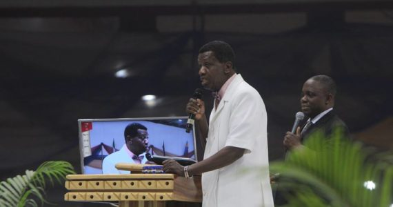 See What Pastor Adeboye Identified As Man's Greatest Enemy At Holy Ghost Congress