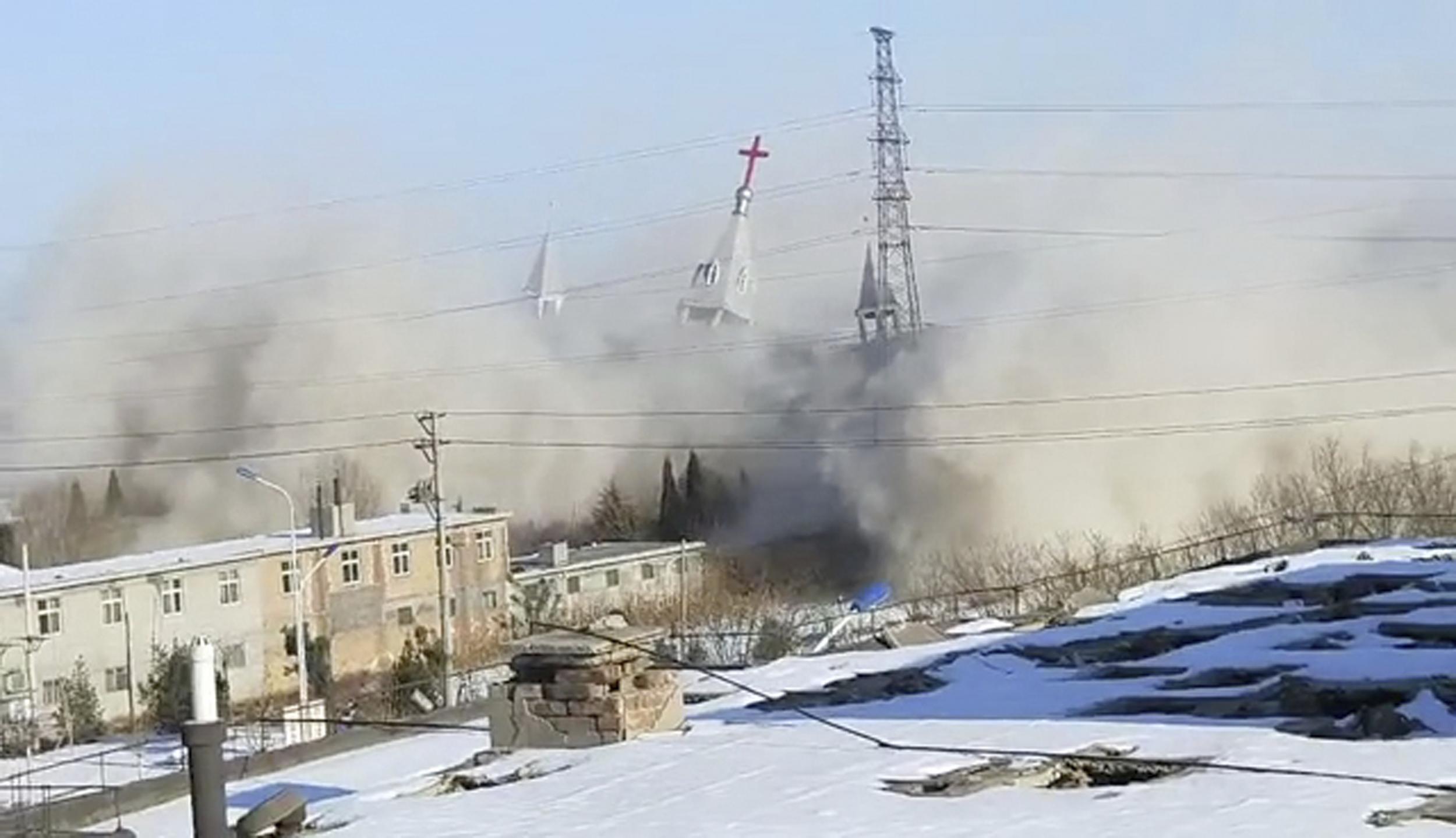 China blow megachurch