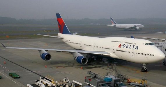 Delta Air Flight Catches Fire Mid Air – Makes Emergency Landing In Lagos