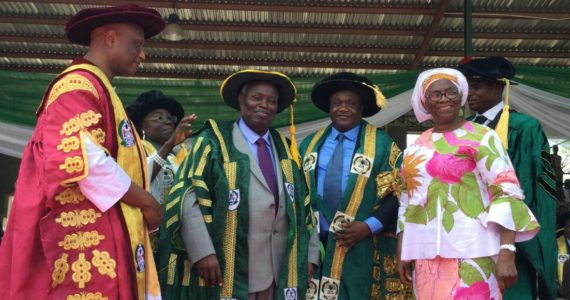 Photos: Pastor Kumuyi Honoured With Doctorate Degree At The University Of Abuja