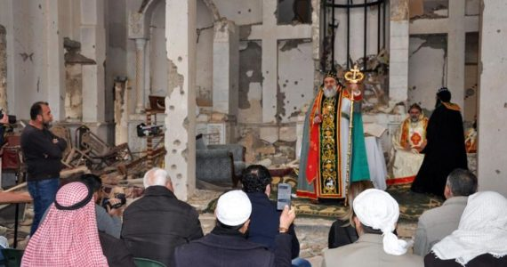 Christians Hold First Church Service In Syria 6 Years After Uprising