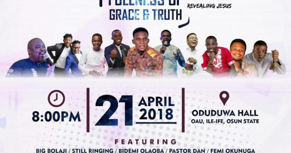 Tim Godfrey, Femi Okunuga, Woli Agba And Lots More To Storm OAU | 21st, April 2018