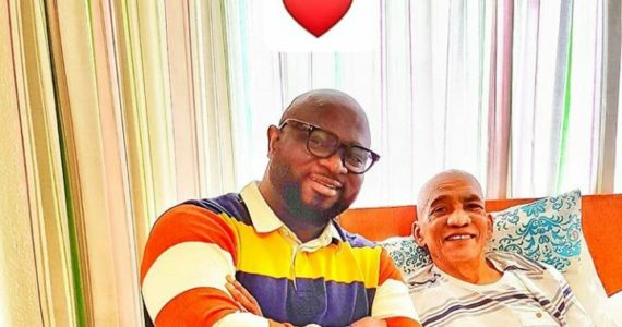 """Wilson Joel Visits """"Jehovah Knows"""" Singer Lionel Peterson At The Hospital"""