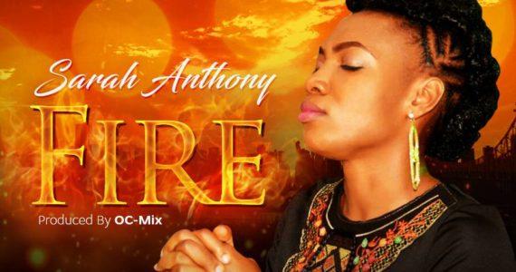 #SelahMusic: Sarah Anthony | Fire (+ Lyrics Video) | @SarahDVoice
