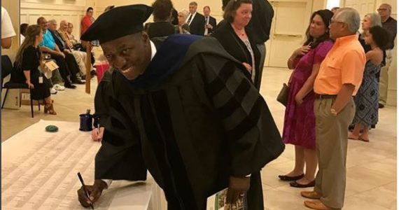 Pastor Sam Adeyemi Bags Doctorate Degree From U.S University