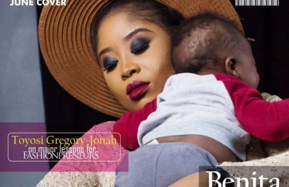 Benita Okojie Talks Motherhood As She Covers FabMumNG's June Issue!