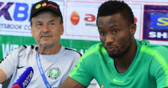 Nigerians Applaud Mikel Obi For Playing Against Argentina Despite Father's Abduction