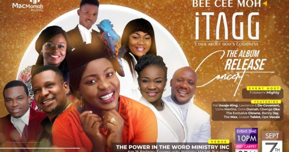 """Bee Cee Moh Complements """"iTAGG"""" Album Release With Concert! 
